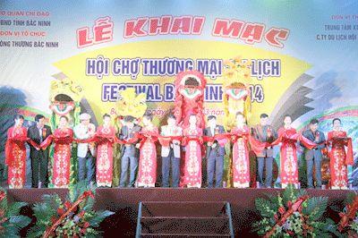 Khai mạc Hội chợ Thương mại du lịch Festival Bắc Ninh 2014