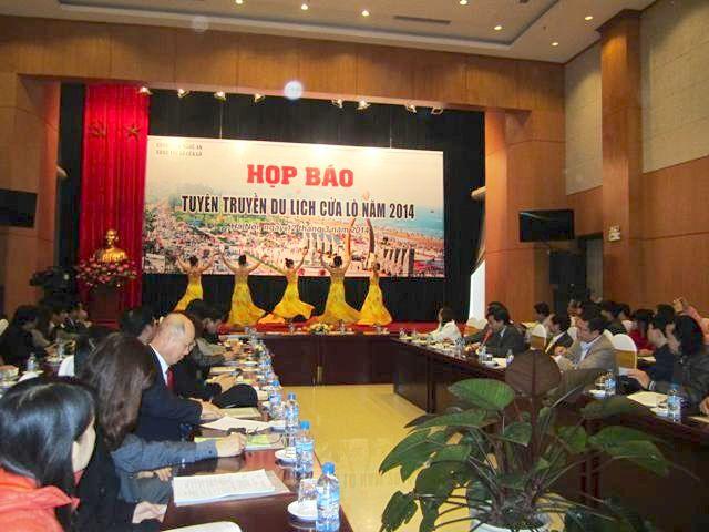 Họp báo giới thiệu lễ hội du lịch cửa lò tại Hà Nội