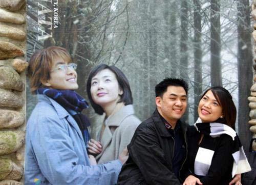 Bức ảnh du khách chụp lãng mạn như trong phim