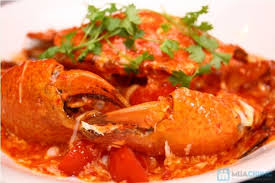 Cua sốt ớt - Biểu tượng món ăn hải sản Singapore