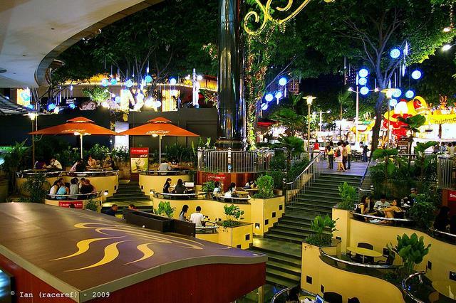 Vẻ đẹp về đêm ở Singapore