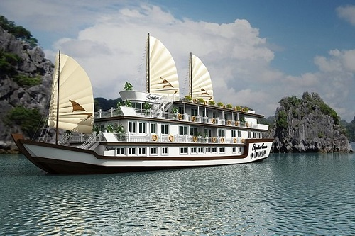 Du thuyền 5 sao Signature Cruise ở Vịnh Hạ Long