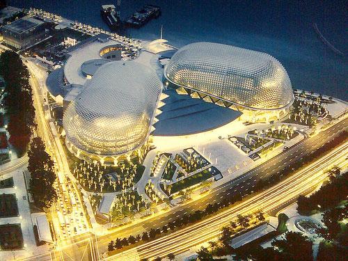 Nhà hát quả sầu riêng - Công trình kiến trúc tiêu biểu ở Singapore