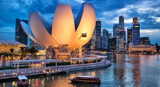 Vẻ đẹp trong lành của Singapore