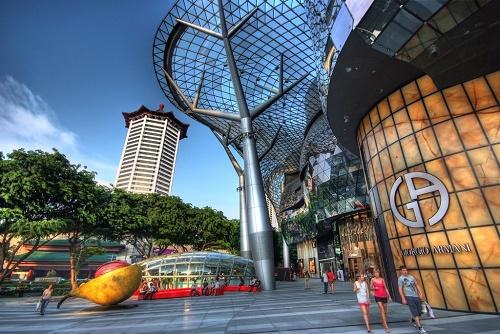 Thiên đường mua sắm Orchard Road