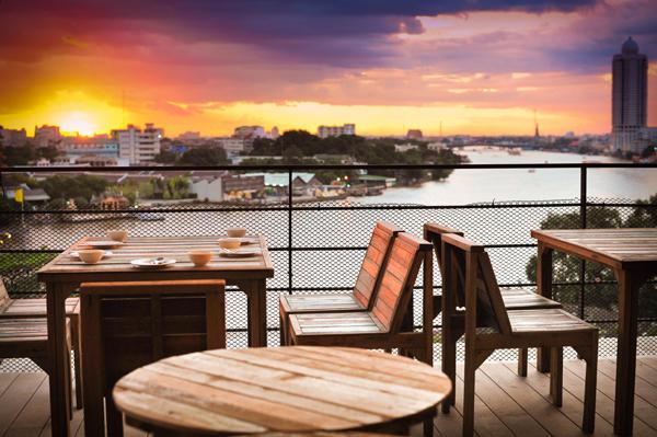 Quán River View Guest House có đồ uống lạ, rẻ nhất ở Bangkok