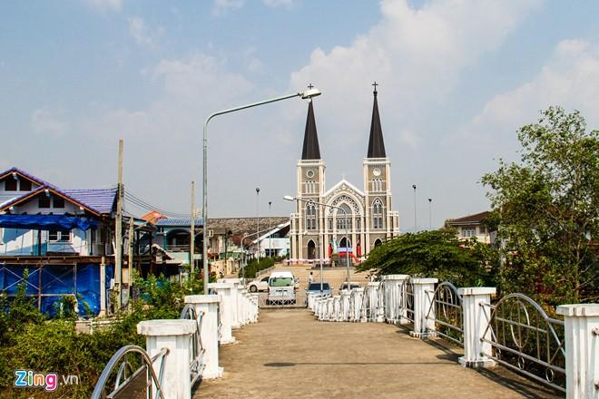 Thánh đường người Việt lớn nhất ở Thái Lan